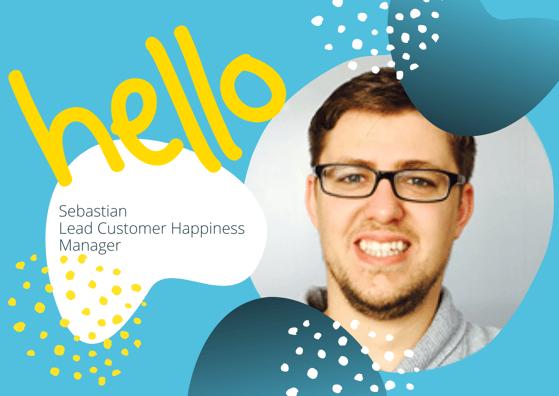 Sebastian Lead Customer Happiness Manager