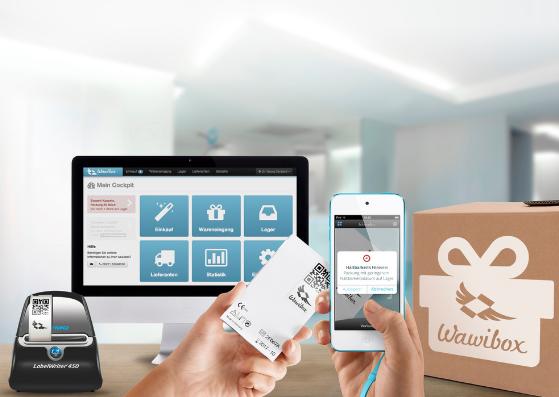 Wawibox Pro Online-Materialverwaltung und Hardware Starterpaket