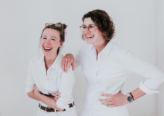 Ein starkes Team - Sarah und Lea